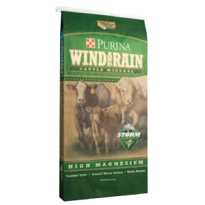 Purina's Wind and Rain® High Magnesium 4 CP