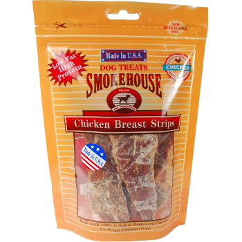 Smokehouse Chicken Breast Strips Dog Treats