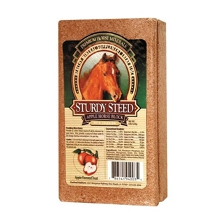 Sturdy Steed Apple Flavored Mineral Horse Block 4lb