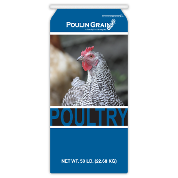 Poulin Grain Poultry Grower/Finisher Crumbles