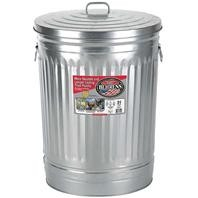 Galvanized Steel Utility Can with Lid