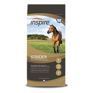 Blue Seal® Inspire Strider® Pelleted Horse Feed