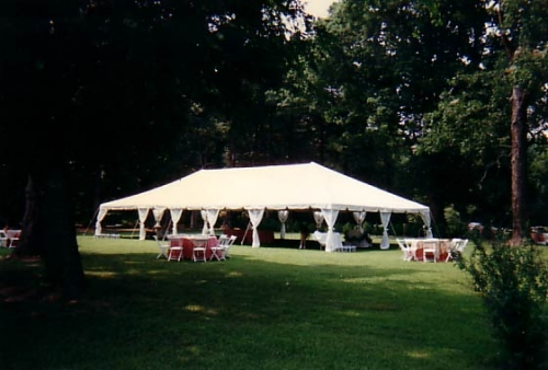 30 x 40 Frame Tent & Grand Event Center - Winchester VA