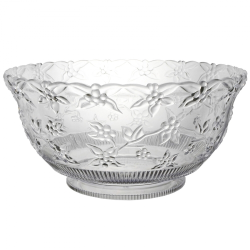 Punch Bowl 8 Qt Glass With Ladle