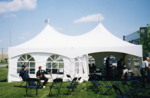 Warner Shelter, 20'x30', High Peak Marquee Tent