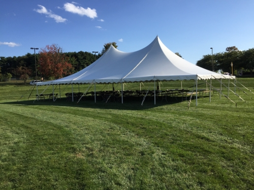 40 X 60 Pole Tent Grand Event Center Winchester Va