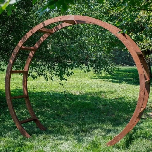 Round Wooden Arch ***NEW FOR 2019***