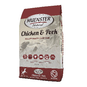 Muenster Natural™ Chicken & Pork Dog Food