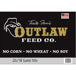 Outlaw Gold Dog Food 50 Lbs.
