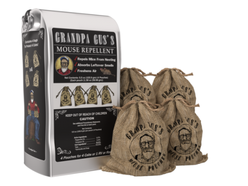 Grandpa Gus Mouse Repellant Pouches
