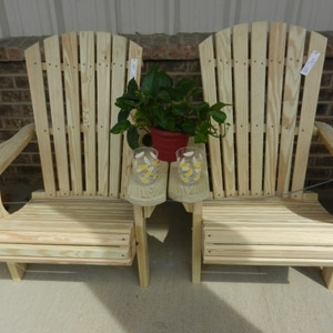 Adirondack Chairs built with Alaskan Yellow Cedar