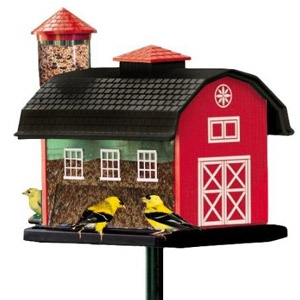 Audubon® Red Barn Combo Bird Feeder
