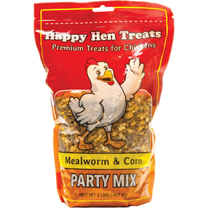 Happy Hen Treats Mealworm & Corn Party Mix