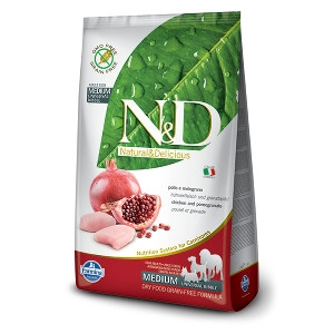 N&D Chicken & Pomegranate Complete Dog Food