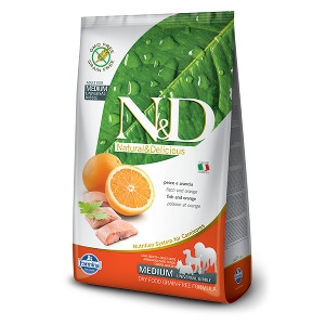 N&D Fish & Orange Complete Dog Food