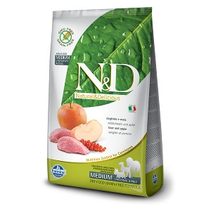 N&D Boar & Apple Complete Dog Food