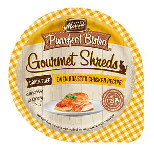 Purrfect Bistro Gourmet Shreds – Oven Roasted Chicken Recipe