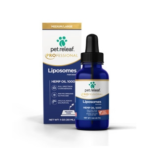 Pet Releaf Professional Liposome CBD Hemp Oil 1000