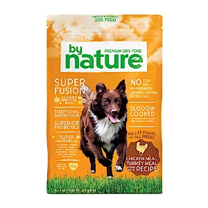 By Nature® Chicken Meal & Turkey Meal with Brown Rice Recipe for Dogs