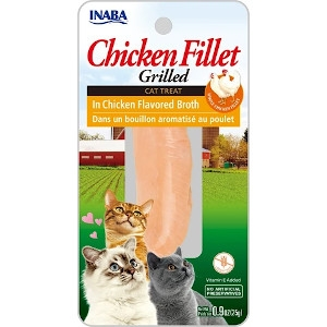 Inaba Grilled Chicken Fillet Cat Treat