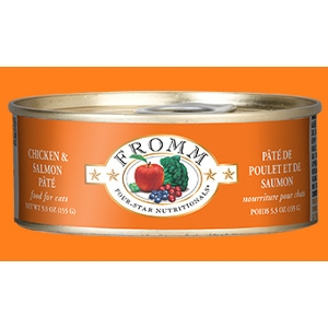 Four-Star Chicken and Salmon Pate for Cats