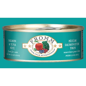 Four-Star Salmon & Tuna Pate for Cats