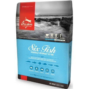 Orijen Food For Cats- Six Fish Formula