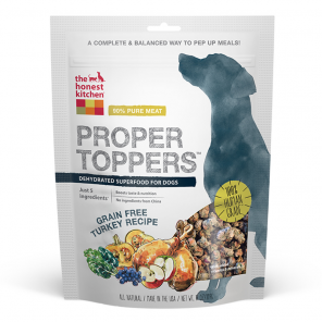 The Honest Kitchen Proper Toppers Grain-Free Turkey Recipe Dog Food Topper
