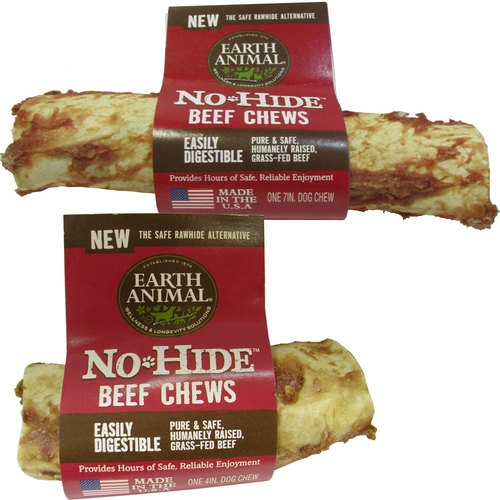 Earth Animal No-Hide Beef Chews for Dogs