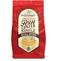 Cage-Free Chicken Raw Coated Kibble Small Breed