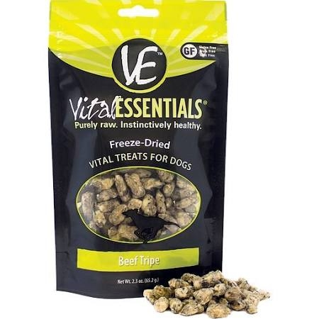 Vital Essentials Beef Tripe Freeze-Dried Dog Treats