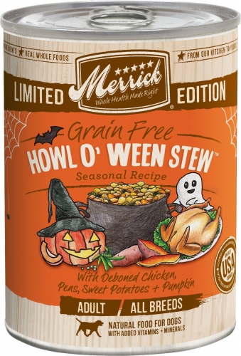 Merrick Seasonal Grain-Free Howl O' Ween Stew Canned Dog Food