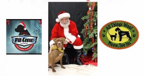 Presents for Pits with Santa