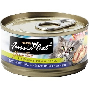 Fussie Cat Tuna with Threadfin Bream Canned Cat Food, 2.82 oz.
