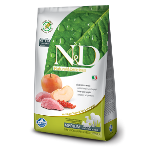 N&D Grain-Free Canine Boar & Apple Adult Medium
