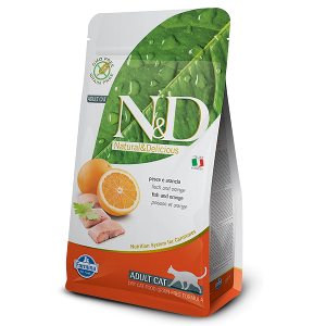 N&D Grain-Free Feline Fish & Orange Adult