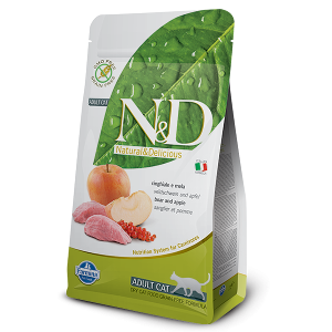 N&D Grain-Free Feline Boar & Apple Adult