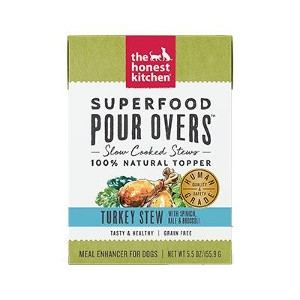 Superfood Pour Overs - Turkey Stew
