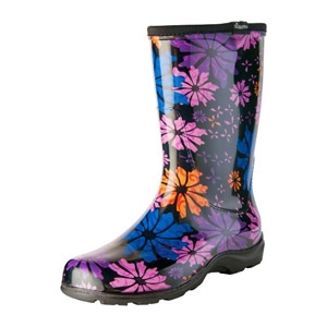 SLOGGERS® Flower Power Women's Rain and Garden Boot