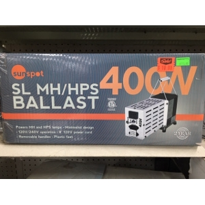 Sunspot Grow Light Ballast