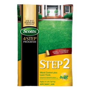 Step® 2 Weed Control Plus Lawn Food