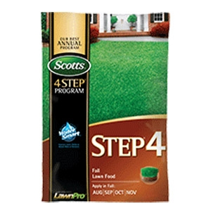 Step® 4 Fall Lawn Food
