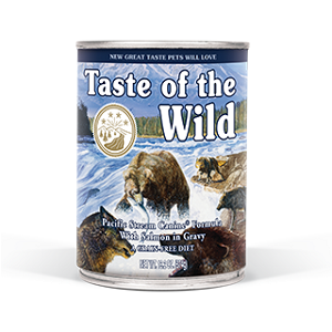 Taste of the Wild Pacific Stream Canine® Formula with Salmon in Gravy
