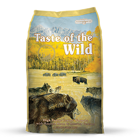 Taste of the Wild High Prairie Canine® Formula with Roasted Bison & Roasted Venison