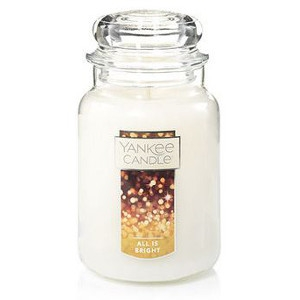 All is Bright Jar Candle