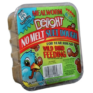 C & S Mealworm Delight No Melt Suet Dough