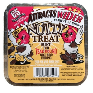 C & S Suet Nutty Treat