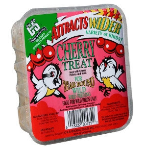 C & S Suet Cherry Treat