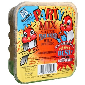 C & S Suet Party Mix