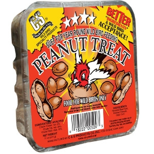 C & S Suet Peanut Treat